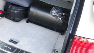 Zbiornik auto-gaz (LPG) w Porsche