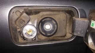 Wlew paliwa LPG Citroen C5