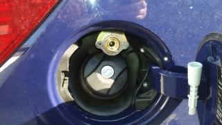 Wlew paliwa LPG - instalacja Optima Opel Corsa - Bydgoszcz - Fordon