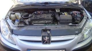 Instalacja samochodowa LPG (auto-gaz) Peugeot 307 - Bydgoszcz - Fordon - Bora-Komorowskiego 15