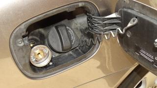 Wlew paliwa LPG Volvo V70