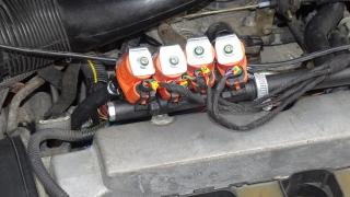Regulacja pracy wtryskiwaczy gazu instalacji LPG - Bydgoszcz - Fordon